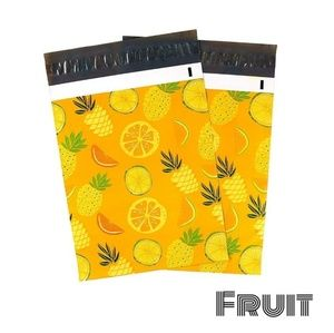 Other - 25 Poly Mailers 10 x 13 inch FRUIT Design